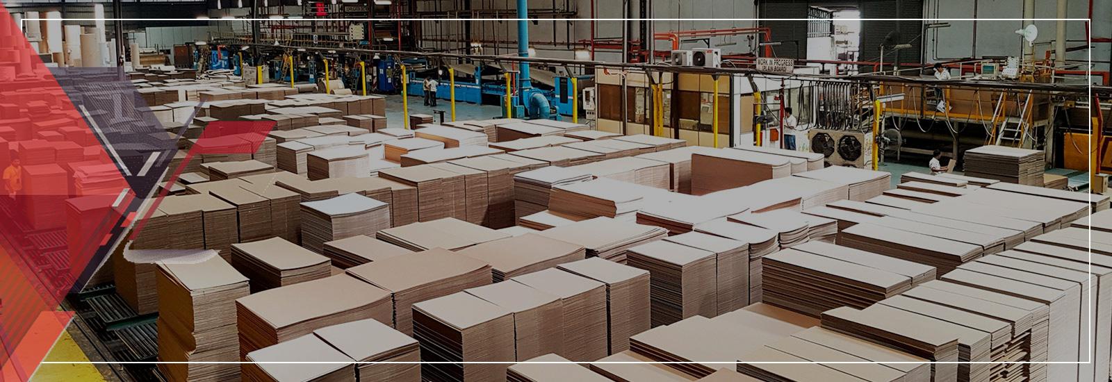 Hàng carton sản xuất sẵn