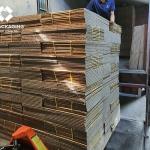 Xuất đơn hàng thùng carton 5 lớp tại Bắc Từ Liêm